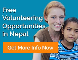 free volunteer in Nepal
