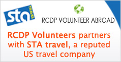 RCDP partner wit STA Travel